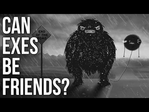 …Can ex partners be friends …?